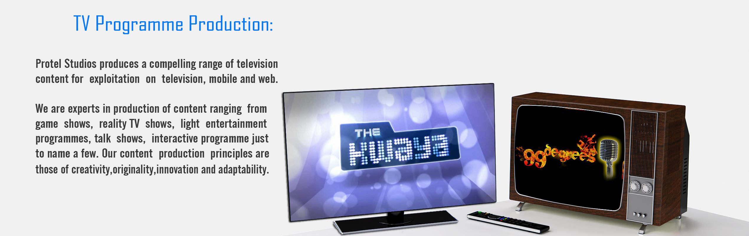 TV Programme Production X